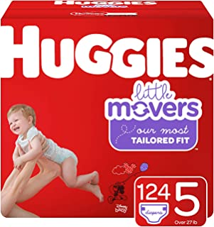 Best huggies little movers size 5 150 count Reviews