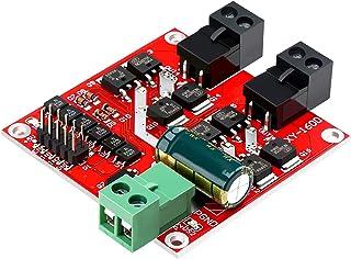 DC Motor Driver, DROK L298 Dual H Bridge Motor Speed Controller DC 6.5V-27V 7A PWM Motor Regulator Board 12V 24V Electric ...