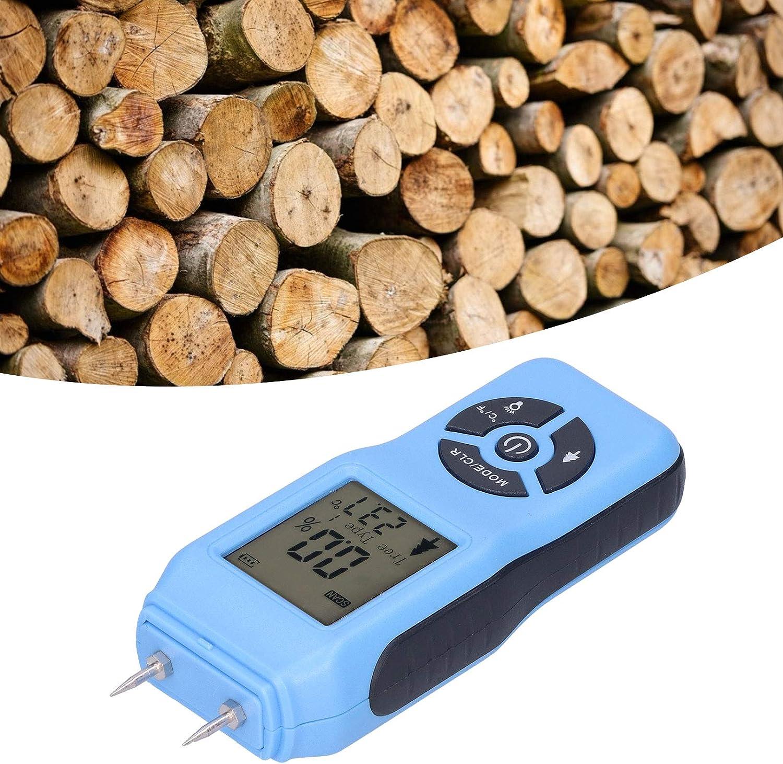 SONK Moisture Meter, Automatic Shutdown Moisture Testing Device, for Measure Wood Contractors(Blue)