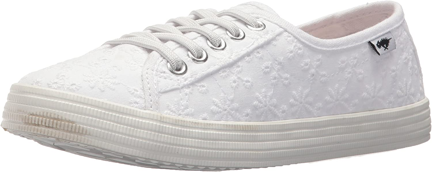 Rocket Dog Womens Chowchow Lucky Eyelet Cotton Sneaker