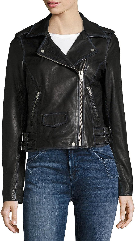 Marc New York Whitney Moto Leather Jacket