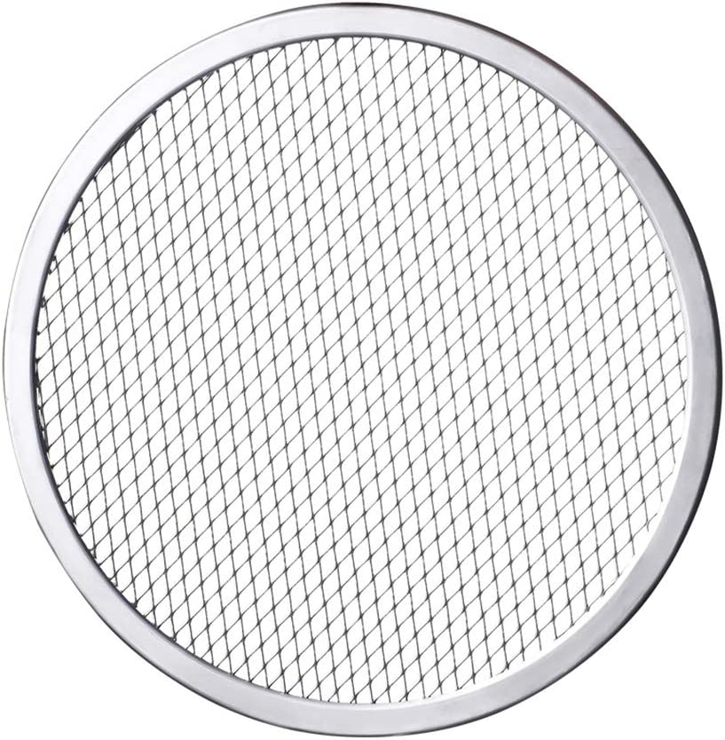HAOXIANG Pizza Pan with Max 49% In a popularity OFF Holes Round Crispe Aluminum Alloy