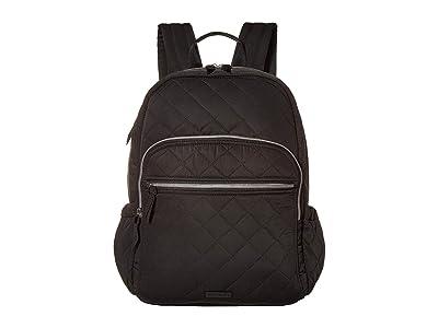 Vera Bradley Performance Twill Campus Backpack (Black) Backpack Bags