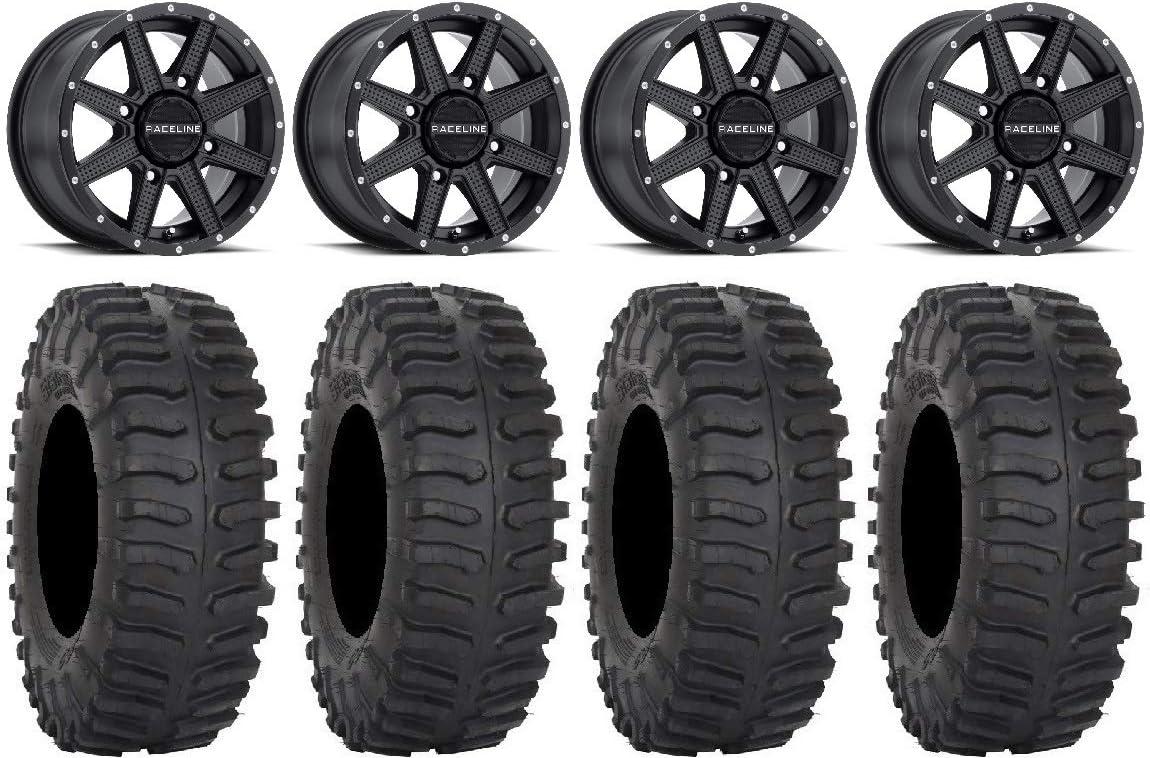 Bundle - 9 Items: Raceline Hostage Soldering Black Ti Wheels 32