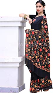 kashmiri work saree