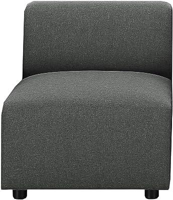 Amazon.com: HONBAY Sofá convertible de piel en forma de L ...