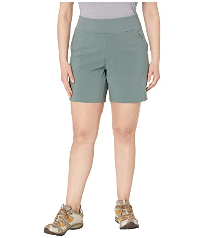 Columbia Plus Size Bryce Canyontm Hybrid Shorts (Pond) Women