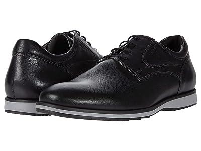 Geox Blainey (Black Tumbled Leather) Men