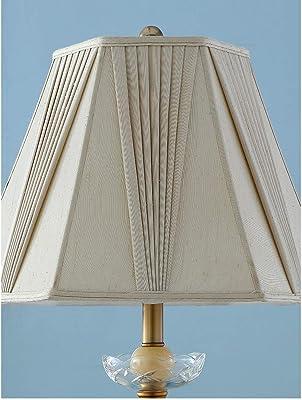 フロアランプ アメリカの錬鉄製のフロアランプの寝室のリビングルームシンプルなセラミックフロアランプ