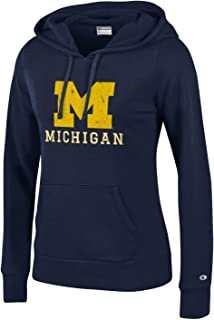 Champion NCAA Womens NCAA Women's Comfy Fitted University Fleece Hoodie