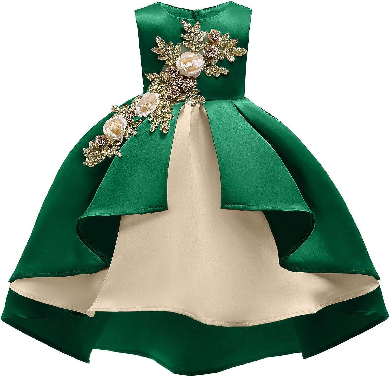 COMISARA 2-9T Flower Girls Dress Party Pageant Prom Dresses Best Gift for Girl