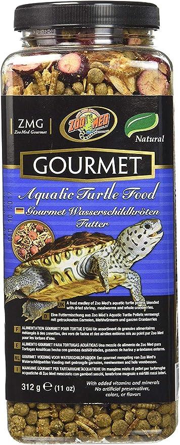 Zoo Med Gourmet Aquatic Turtle Food 12 oz - Pack of 2