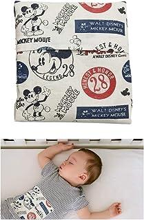 """Sacca termica""""Mickey Mouse"""" per alleviare le coliche nei neonati - Sacchetto interno e una copertura lavabile - 100% coton..."""