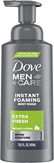 Dove Men+Care Foaming Body Wash, Extra Fresh, 13.5 oz