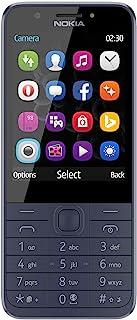 Nokia 230 Smartphone (7,11 cm (2,8 tum), 16 MB, 2 megapixlar, operativsystem Series 30+, Dual Sim) midnight blå