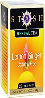 Herbal Tea-Lemon Ginger Stash Tea 20 Bag