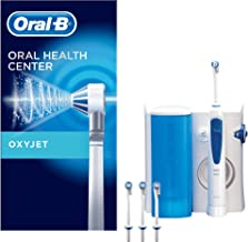 Oral-B Oxyjet - Sistema de Limpieza Irrigador Bucal con Tecnología Braun, 4 Cabezales