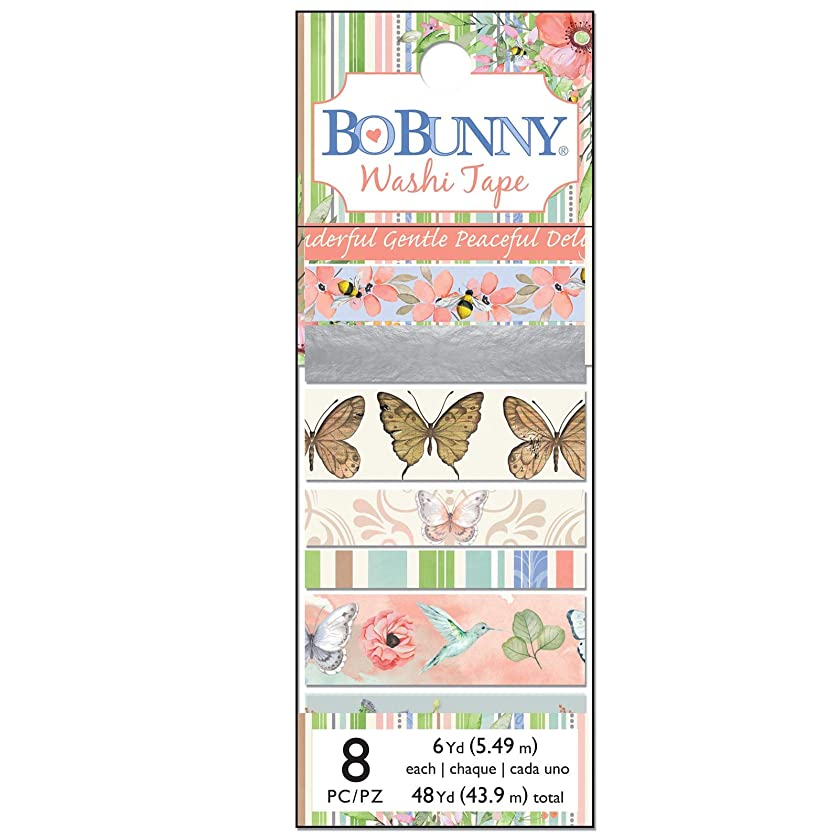 Bo Bunny 7310521 Butterfly Kisses Washi Tape Multi