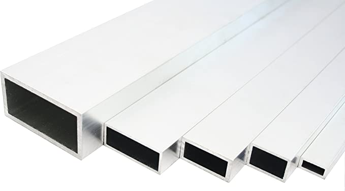 Aluminium Quadratrohr Walzblankes Vierkantrohr 35x35x2mm 1500mm