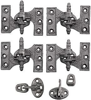 Acme Cast Iron Mortise Shutter Hinges - 3 3/4