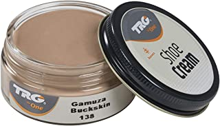 TRG Leather Cream Shoes for Bags, Nourishment and Care, Many Colors, 1.7 fl.Oz (138 - Buckskin)