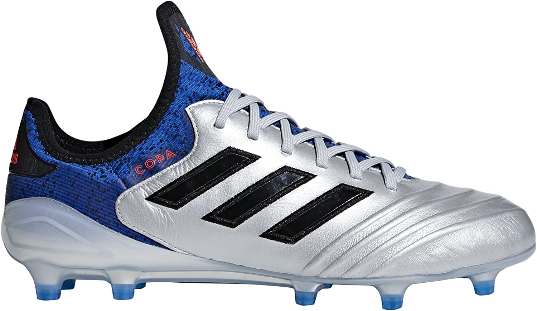 Adidas Men's Copa 18.1 FG Soccer Cleat (Sz. 7.5) Silber, Blau, schwarz B07CNN9G7M  Nicht so teuer