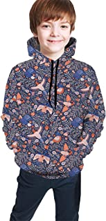 YongColer Athletic Sweatshirts Pullover Tracksuits for Teen Girls Boys