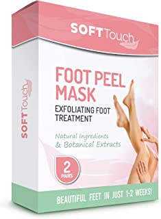 Softtouch Foot Peel Mask - 2 Pairs