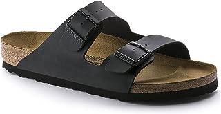 Arizona 'Narrow Fit' Women's (Cork-Footbed) Sandal, Synthetic Birko-Flor, Matte Black 38 N EU / 7-7.5 2A(N) US
