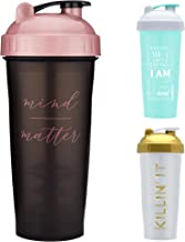 GOMOYO Motivational Quotes on Blender Bottle Brand Shaker Bottles 20oz and 28oz Protein Shakers Fitness Gift Multiple Designs and Colors Available Estimated Price : £ 16,36