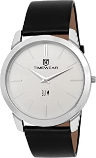 TIMEWEAR Analog Two Hands Slim Watch for Men