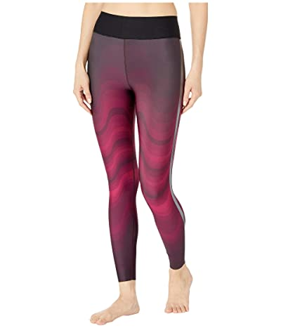 Ultracor Ultra High Swell Leggings (Fuchsia/Gunmetal) Women