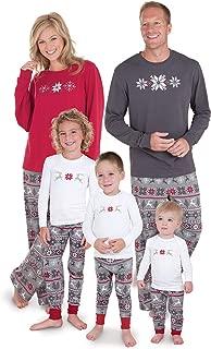 Family Christmas Pajamas Set - Soft Cotton Family Pajamas, Gray