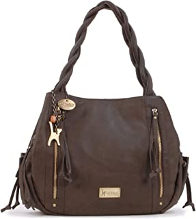 Women's Leather Tote/Shoulder Bag - CAZ
