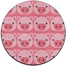 Pig Face Emoji Doormat Entrance Mat Floor Mat Rug Indoor/Outdoor/Front Door Mats Non Slip