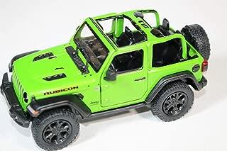 2018 Jeep Wrangler Rubicon No Top Green - Kinsmart P/B