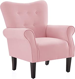 Amazon.com: Living Room Chairs - Pink / Chairs / Living Room Furniture: Home & Kitchen