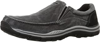 Skechers Mens Expected Avillo Relaxed-Fit Slip-On Loafer