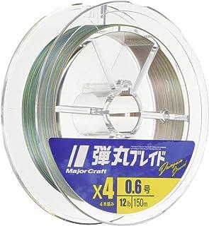 メジャークラフト PEライン 弾丸ブレイド 4本編み 150m