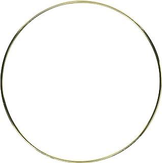 Darice Gold Metal Ring, 10-Inch (17158)