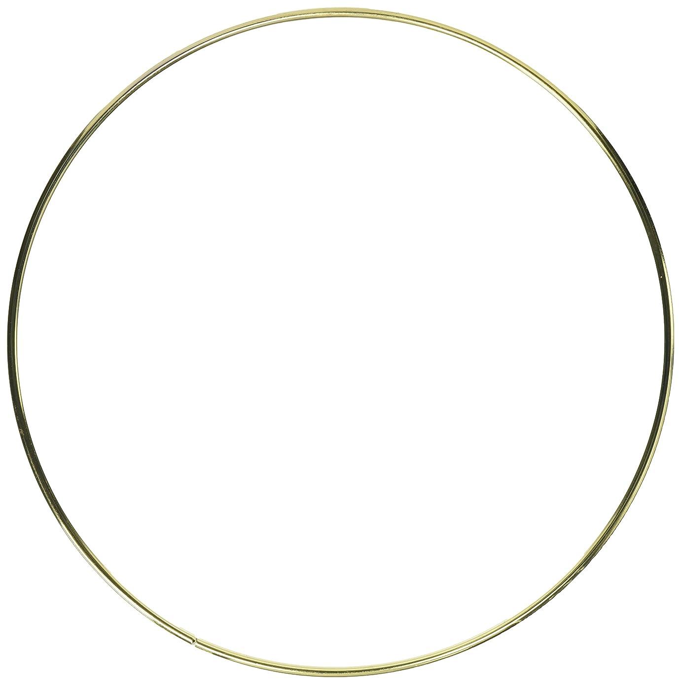 Gold Metal Macrame Ring-8