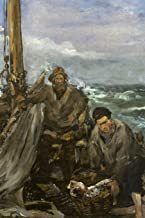 Art Journal: Édouard Manet - The Toilers of the Sea - Art Cover College Ruled Notebook | 110 Pages