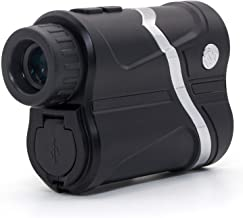 MOESAPU USB Rechargeable Laser Rangefinder up to1656 Yards, Auto Focus 7X Magnification with Continuous Scan, 1yd Accuracy, 4 Modes Golf Rangefinder for Hunting