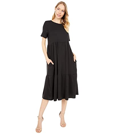 LOST + WANDER Night After Night Dress (Black) Women