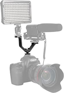 YANTRALAY SCHOOL OF GADGETS Universal V Shape Mount Bracket For Nikon Canon Sony Pentax DSLR Camera (Black)