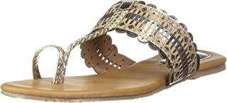 BATA Women's Metallic Tr Slipper