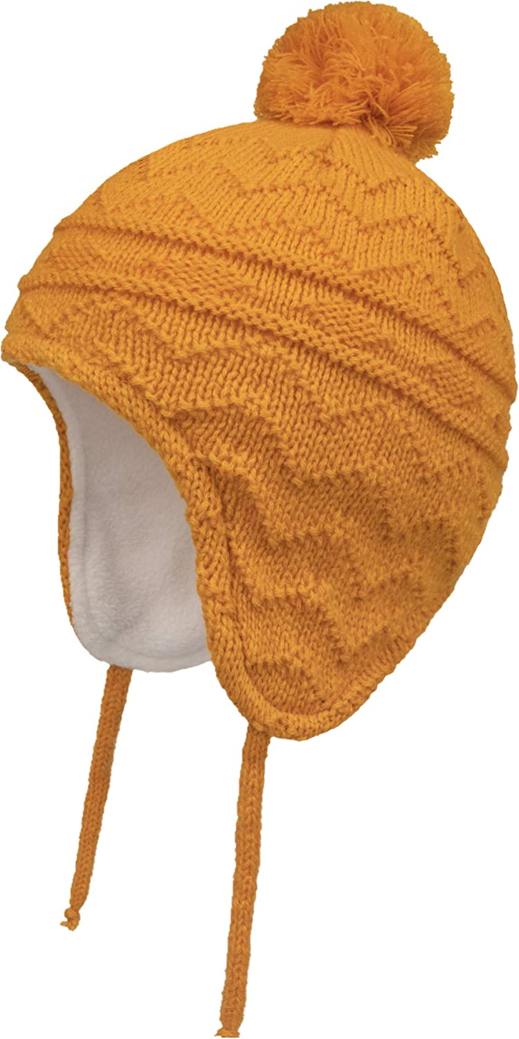 Connectyle Toddler Boys Girls Fleece Lined Knit Kids Hat with Ea