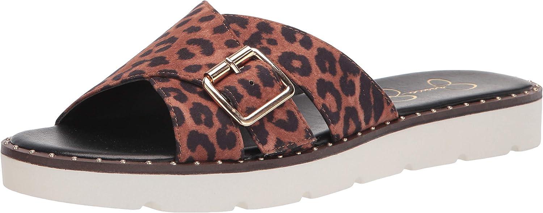 Jessica Simpson Women's Maritah Flat Sandal Slide