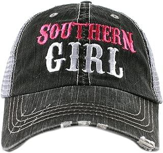 Katydid Southern Girl Women's Distressed Trucker Baseball Hat