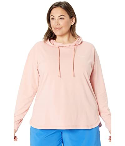 Columbia Plus Size Sun Trek Hooded Pullover